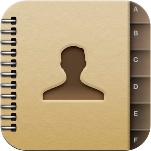 Contacts icon in iOS