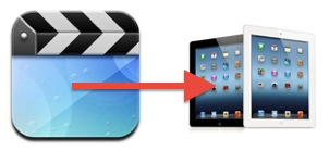Copying video to iPad manually