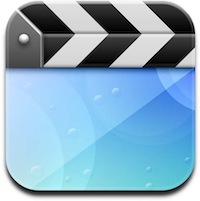 Videos app icon in iOS