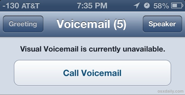 how to turn on visual voicemail iphone iphone 6 voicemail unavailable myideasbedroom 7878