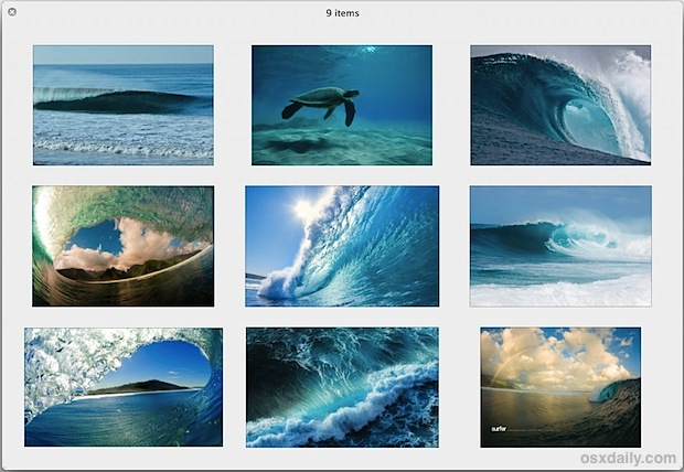 9 awesome wave wallpapers for Apple gear