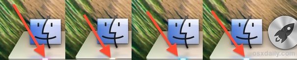 Change the Dock Indicator Lights color in Mac OS X