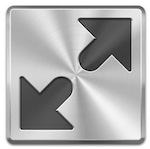Full Screen mode icon for OS X