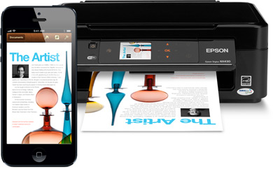 Print from an iPhone or iPad wirelessly