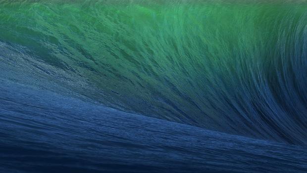 OS X Mavericks default wallpaper