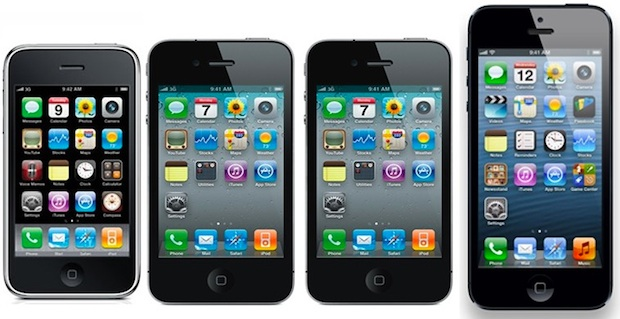 How to identify iPhone models