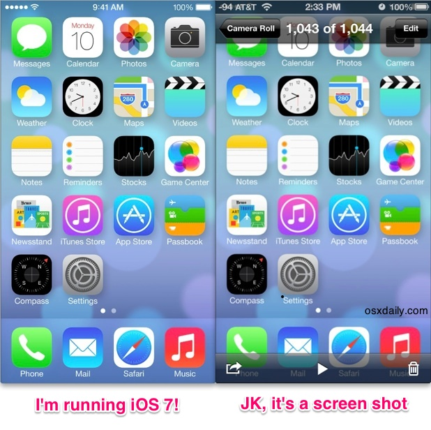 Preview iOS 7 on your iPhone