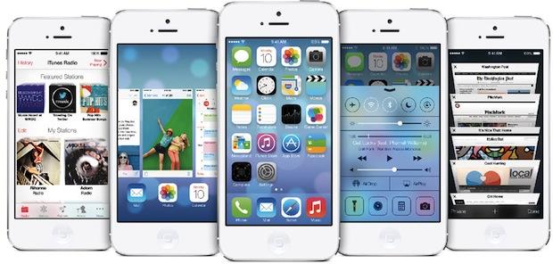 iOS 7 screen shot