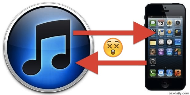 Fix iTunes when it won't sync