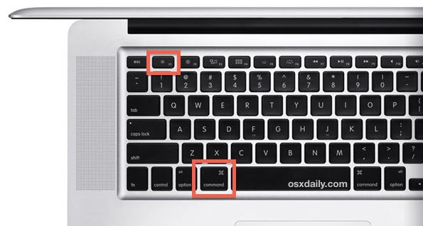 Mac keyboard shortcut for Display Mirroring