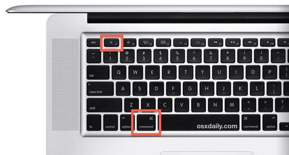 Mac keyboard shortcut for Display Mirroring