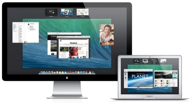 Multi Monitor support in OS X Mavericks