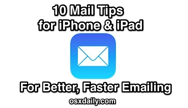 10 Mail tips for iOS