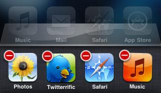 Quit an app in iOS