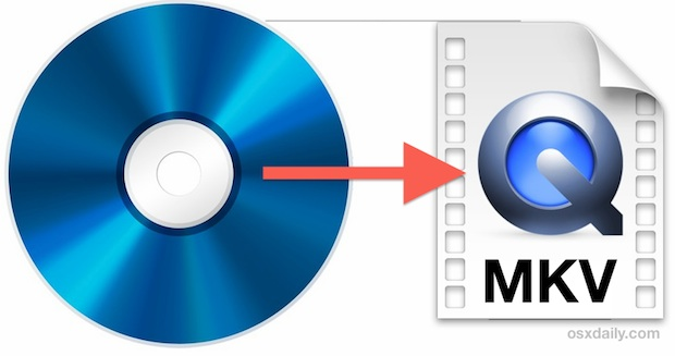 Convert a Blu-Ray Disc to MKV format