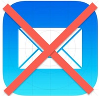 Delete a Mail account in iOS