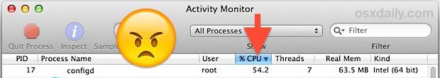 Fix configd gone wild in Mac OS X