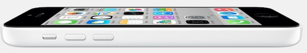 iPhone 5c in white