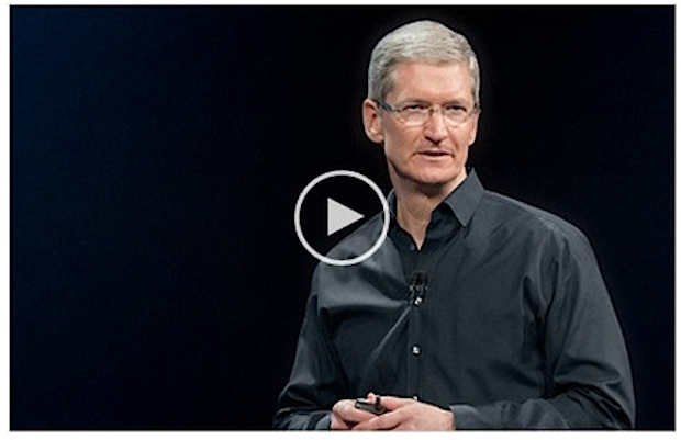 iPhone event video for iPhone 5s and iPhone 5c