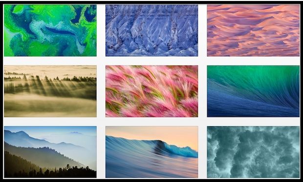 OS X Mavericks wallpapers