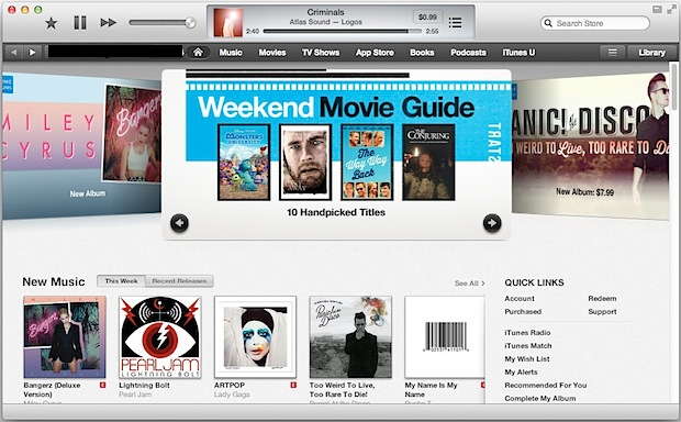 Refresh iTunes Store and App Store caches