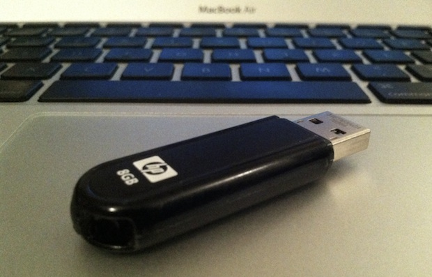 Creating a Mavericks install drive with USB flash disk