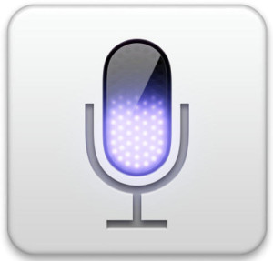Dictation in Mac OS X converts speech to text