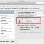 Schedule Do Not Disturb in OS X