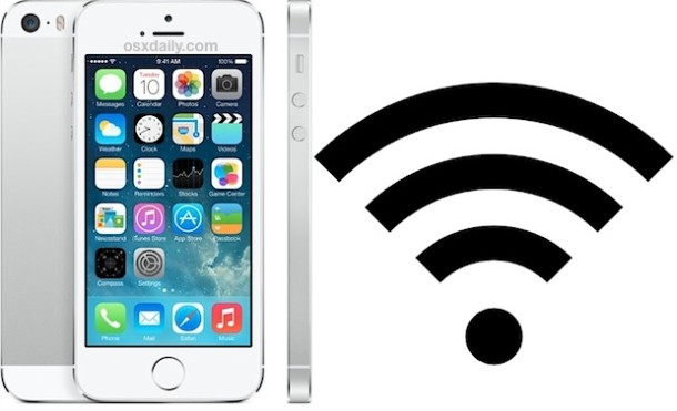 Wi-Fi on iPhone