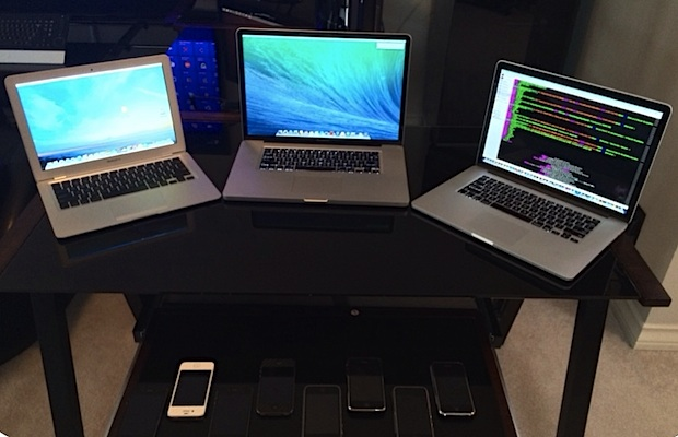 MacBooks and iOS devices