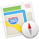 Maps icon in OS X