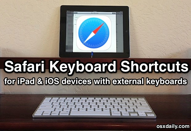Safari Keyboard Shortcuts for iOS