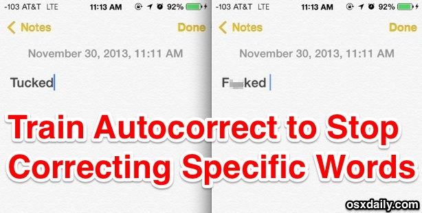 Train autocorrect words in iOS