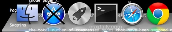 Transparent Dock in OS X