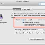 Turn on Enhanced Dictation for Offline Support