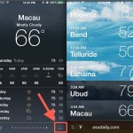View weather for multiple locations at once in IOS