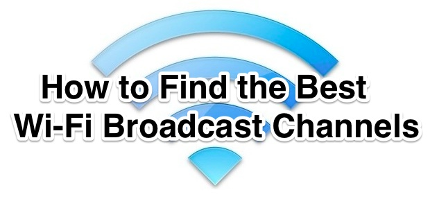How to find the best wi-fi channels to use