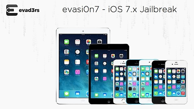 iOS 7.0.5 Jailbreak with Evasi0n
