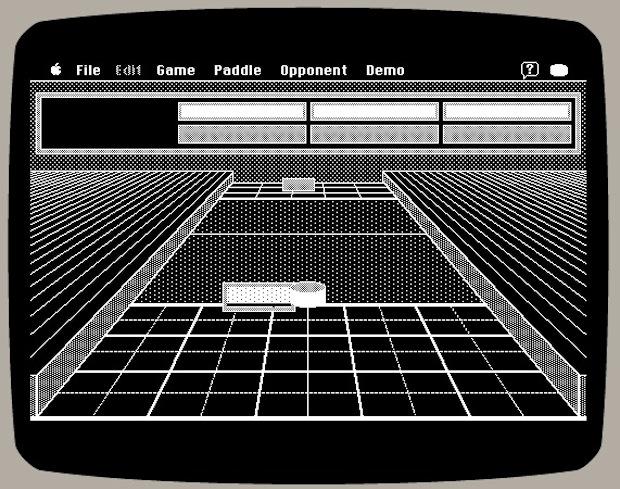 Shufflepuck Cafe in Mac emulator