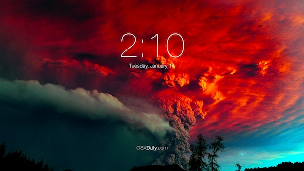 ios-clock-mac-screen-saver
