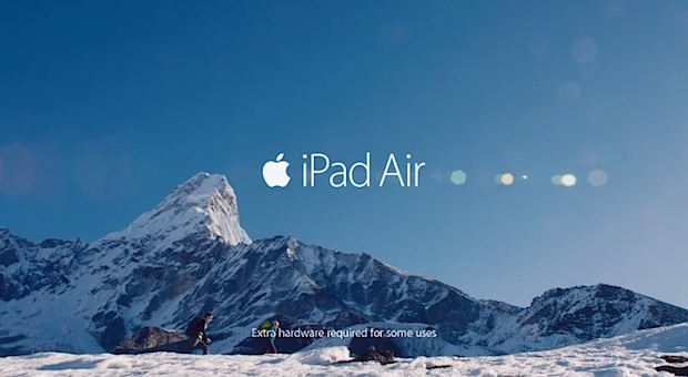 iPad Air Your Verse Anthem commercial