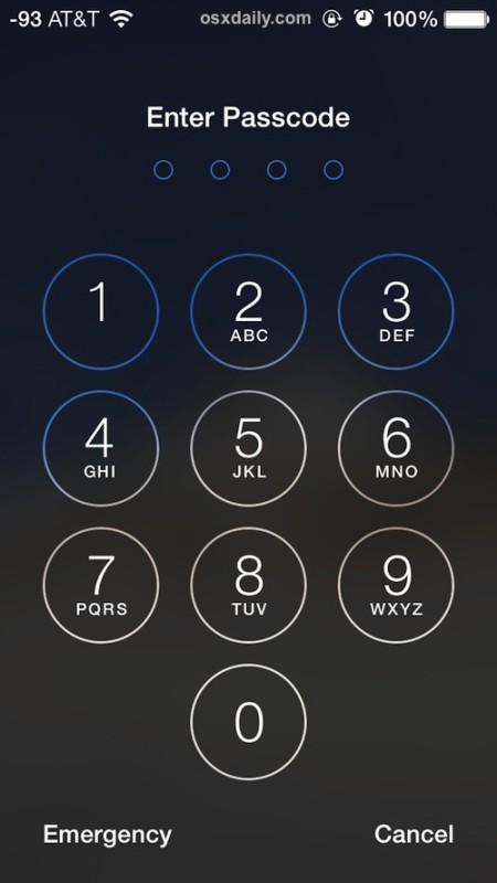 Lock down an iPhone and cause it to erase all data with incorrect password entry