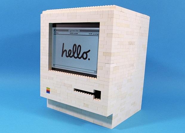 LEGO iPad Macintosh 128k