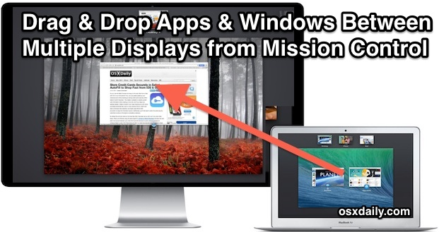 Multiple Display window management with Mission Control in Mac OS X