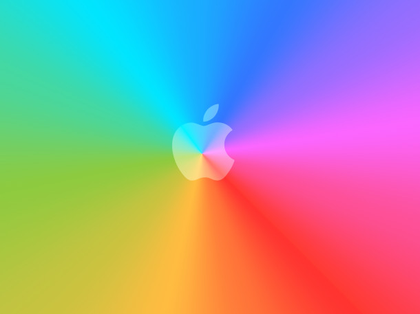 rainbow-apple-logo
