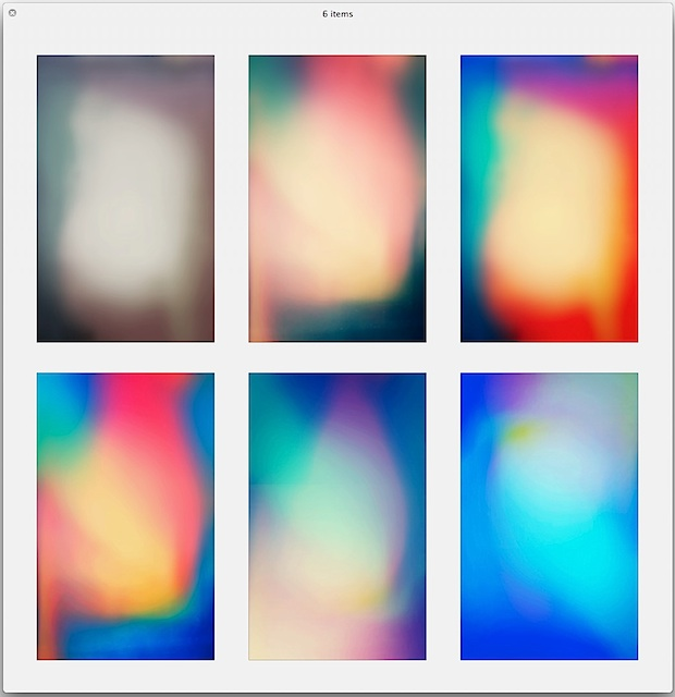 Abstract Parallax wallpapers for iPhone