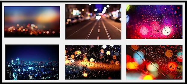 Bokeh light wallpapers