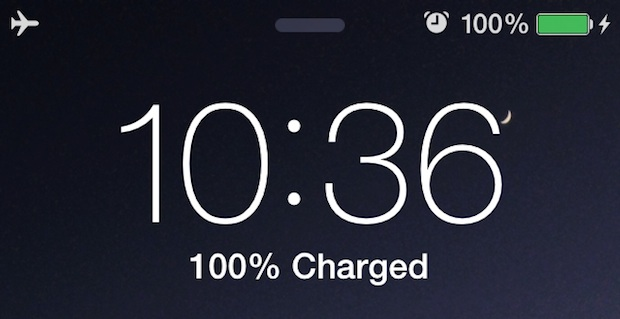Charge the iPhone Faster with AirPlane Mode on