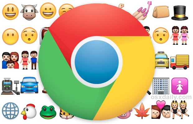 Emoji support in Chrome