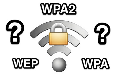 Find the wi-fi security encryption protocol type